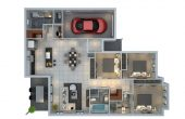 3 Bedroom House Plans And Design