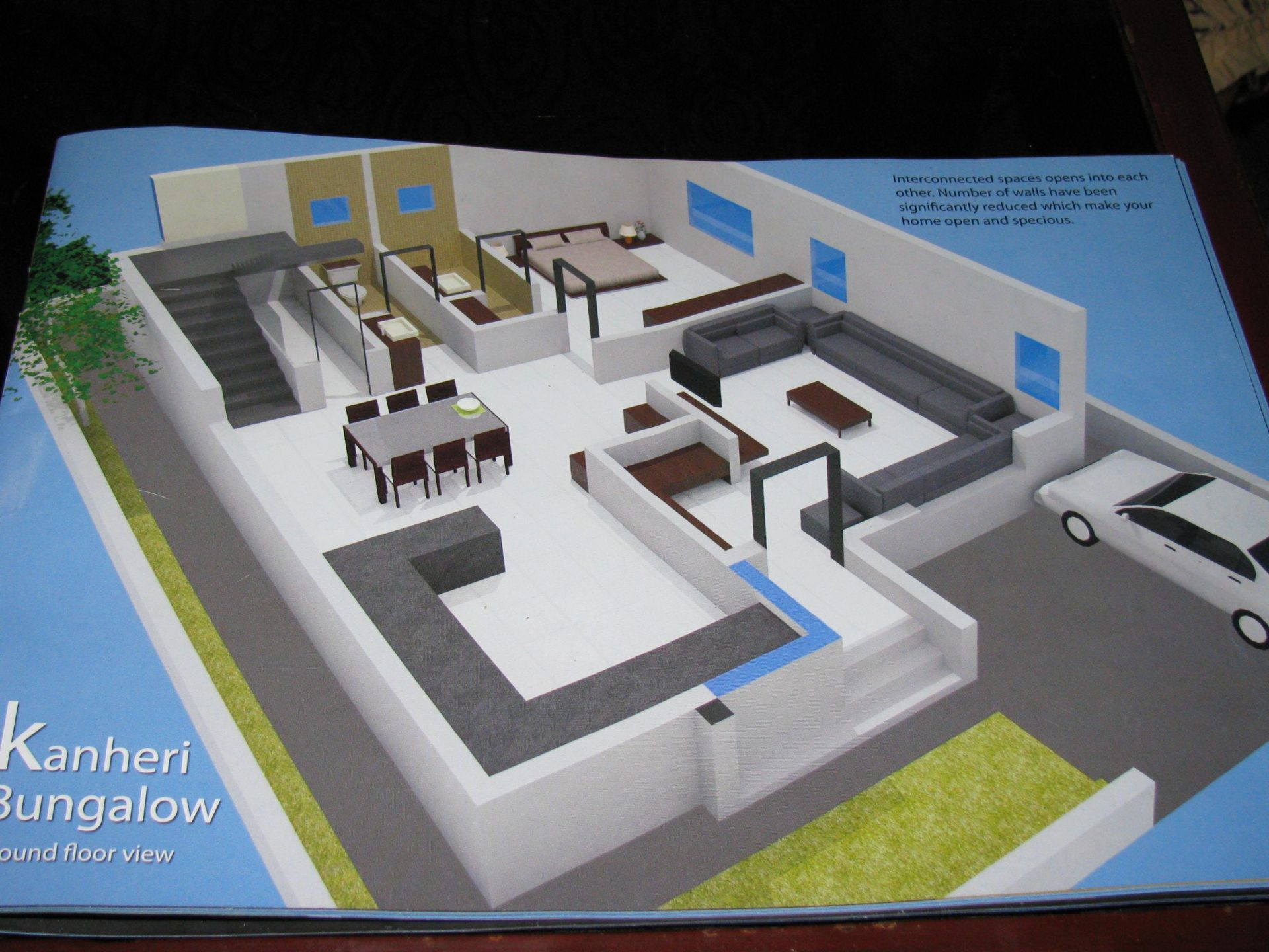 30-ft Wide House Plans Free in 3D