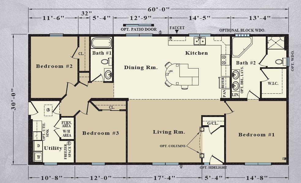30ft Travel Trailer Floor Plans Home 2020