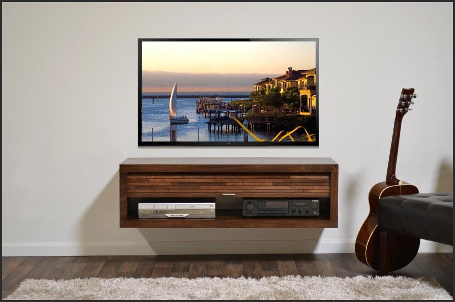 Budget Simple Tv Wall Mount And Shelf Ideas