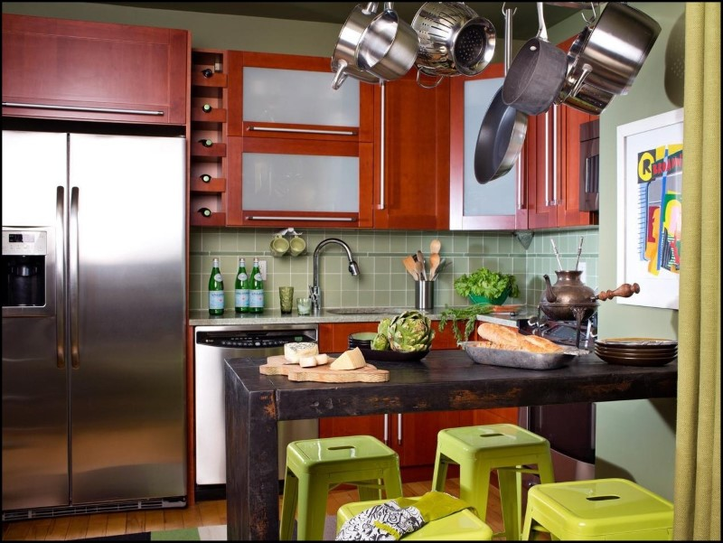 Build In Cupboards For Small Kitchens