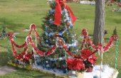 Christmas Gravesite Decoration Ideas