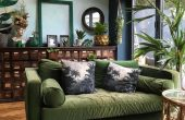 Cozy Room Painting Ideas For tropical green Room
