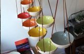 Cute Poettery Wall Mounted Fruit Basket