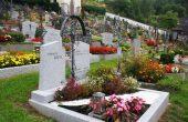 Gravesite decoration ideas With Flower