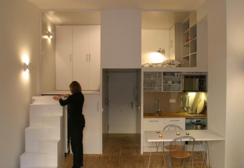Loft DIY Creative 1 Bedroom Apartments Under 500