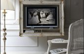 Rustic Luxury Ideas For Wall Mounted Tv Shelves Like in France Hotel Concept
