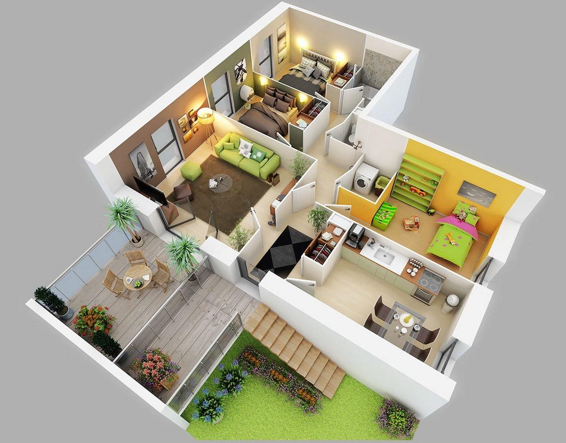Simple 3 Bedroom House Plans And Designs