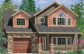 narrow lot house plans with front garage perth