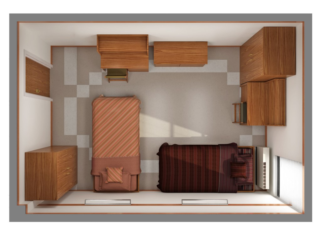 one story house plans without formal dining room 3D