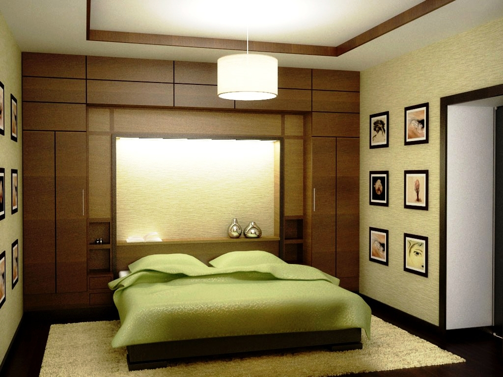 Green and Sunmica Colors for Bedroom