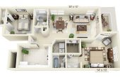 House Plans With 2 Master Bedrooms Downstairs