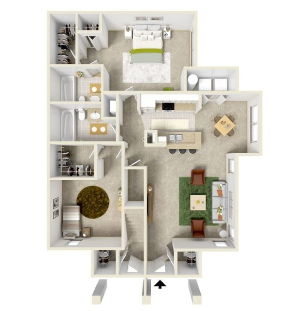 House Plans With 2 Master Bedrooms Downstairs Freshdsgn Com
