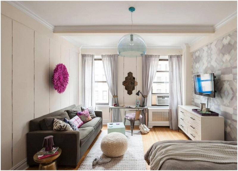 How To Set Up A Square Studio Apartment