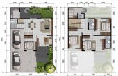40X60 House Plans Complete with Garage Concept
