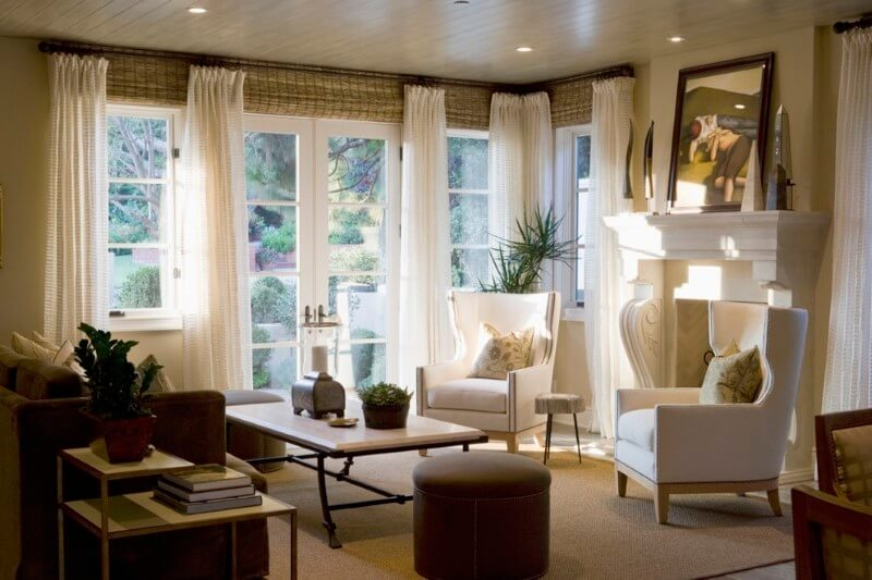 Balloon Curtains for Living Room for windows