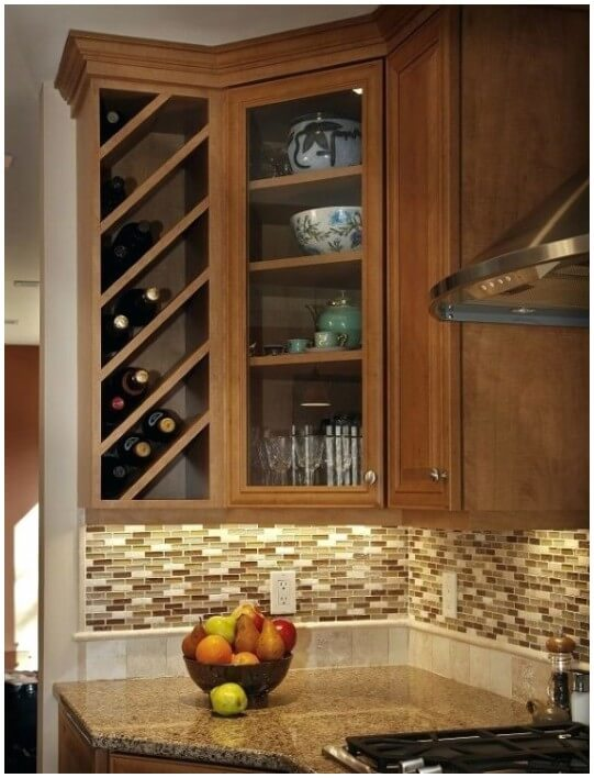 Alternate Uses For Built In Wine Racks