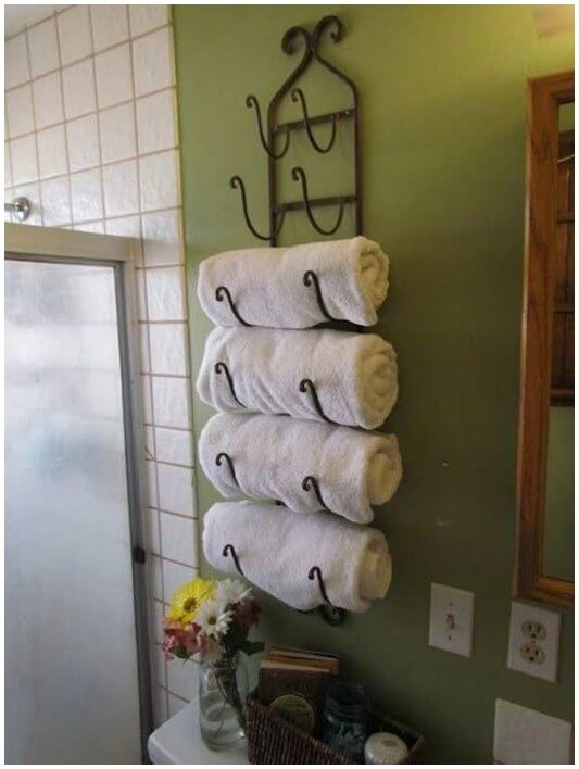 Other Uses For Standing Wine Rack