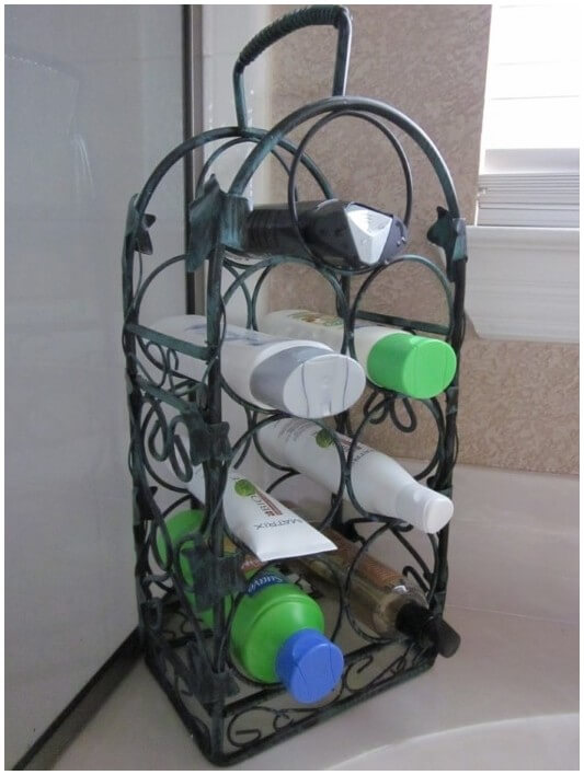 Other Uses For Wine Bottle Rack