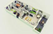 2 Bedroom homes Interior Design for 2 Bedroom Condo