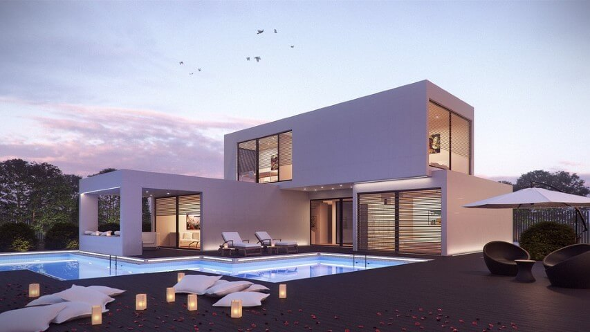 Beautiful House With Pool Pictures