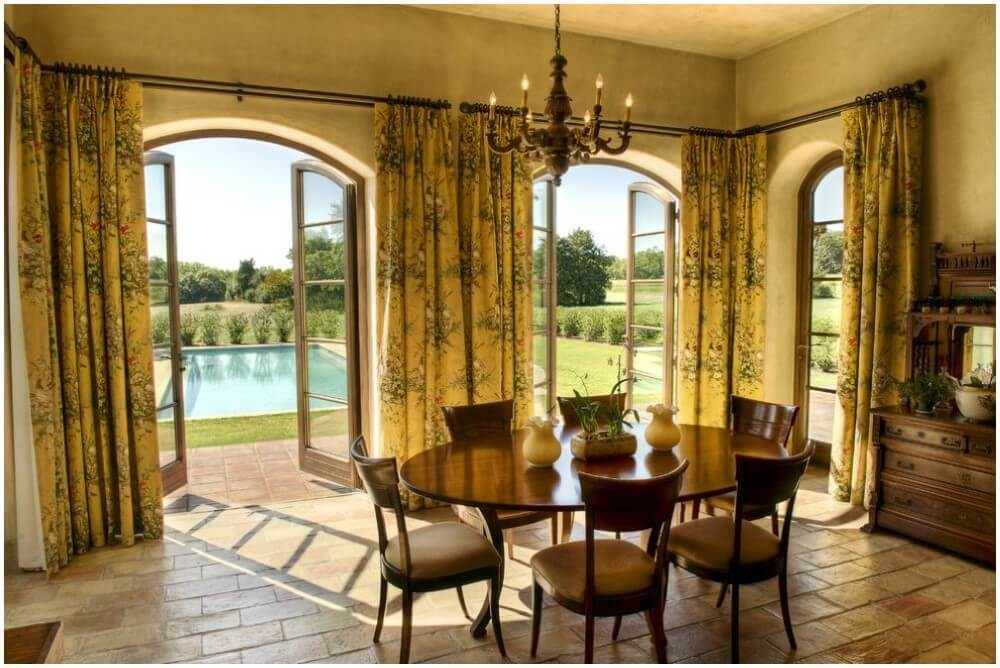 Window Covering For Arched Window